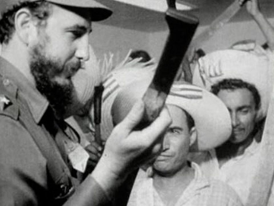 Fidel Castro en 1960.
