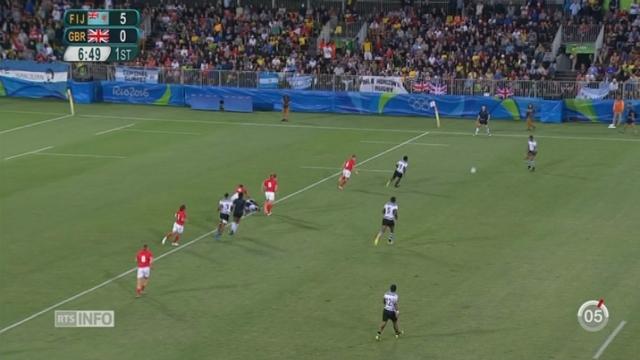 Rio 2016-Rugby: les Fidjiens ont remporté la victoire contre la Grande-Bretagne [RTS]