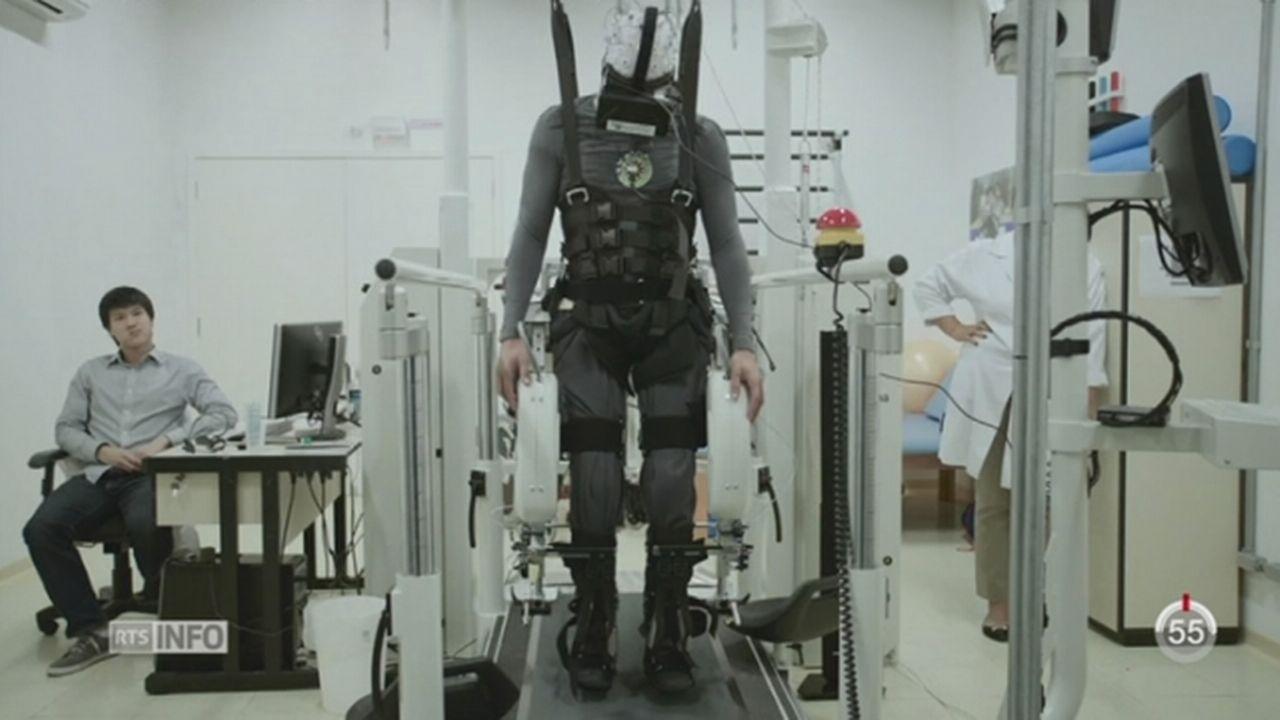Une rééducation cérébrale et physique innovante aide les paraplégiques [RTS]