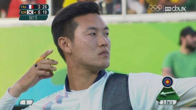 Finale homme: Kij Bonchan (KOR) remporte la médaille d'or face à Valladont (FRA) [RTS]