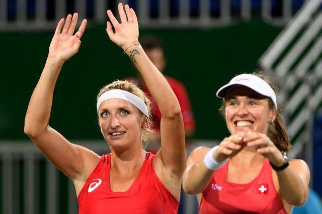Malgré tous les forfaits, le tennis suisse remportera une médaille aux JO! [Laurent Gilliéron - Keystone]