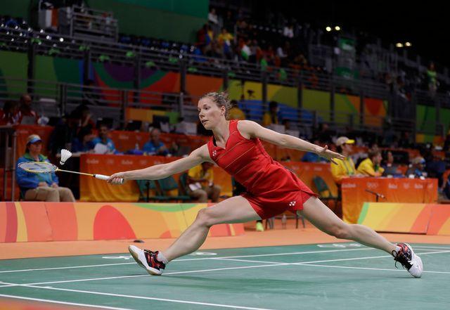 La Chaux-de-Fonnière parfois à son affaire, parfois totalement absente pendant les Jeux de Rio. [Kin Cheung - Keystone]