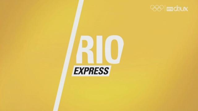 Rio express du mardi 16 août - 1re partie [RTS]