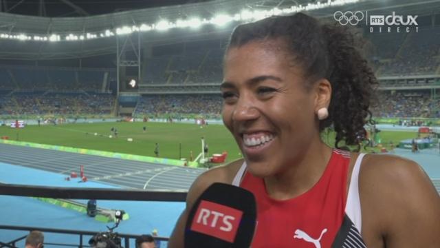 Athlétisme, 200m dames. Mujinga Kambundji explique sa demi-finale [RTS]