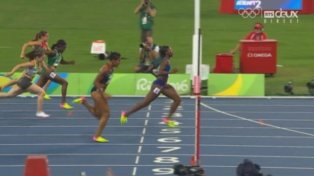 100 m haies dames: la Suissesse termine 5e de sa série et est éliminée [RTS]
