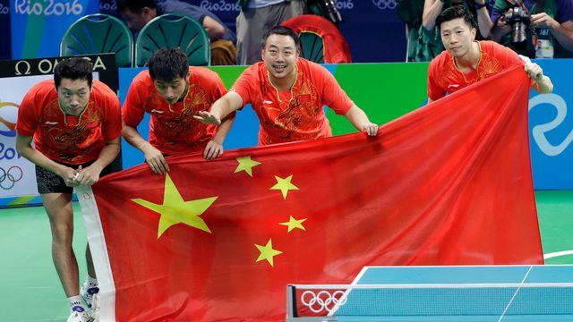 La Chine reste impériale en tennis de table. [Mark Humphrey - Keystone]