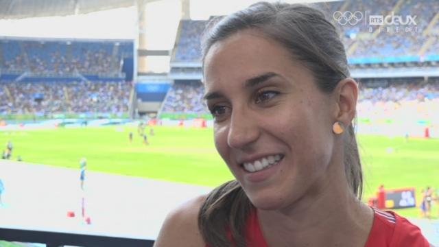 Athlétisme, 4 x 100 dames: Marisa Lavanchy (SUI) raconte sa frustration d'être la remplaçante [RTS]