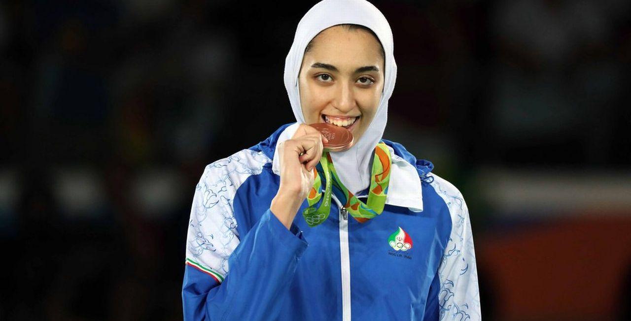 Kimia Alizadeh Zenoorin a fait chavirer tout un pays. [Keystone]