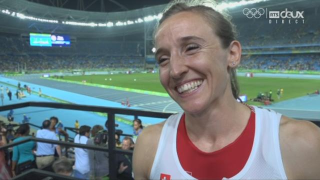 Athlétisme, saut à la perche: l'interview de Nicole Buechler (SUI) [RTS]