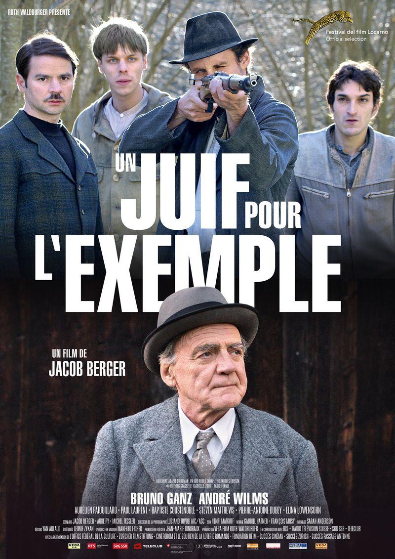 """L'affiche du film """"Un juif pour l'exemple"""" de Jacob Berger."""
