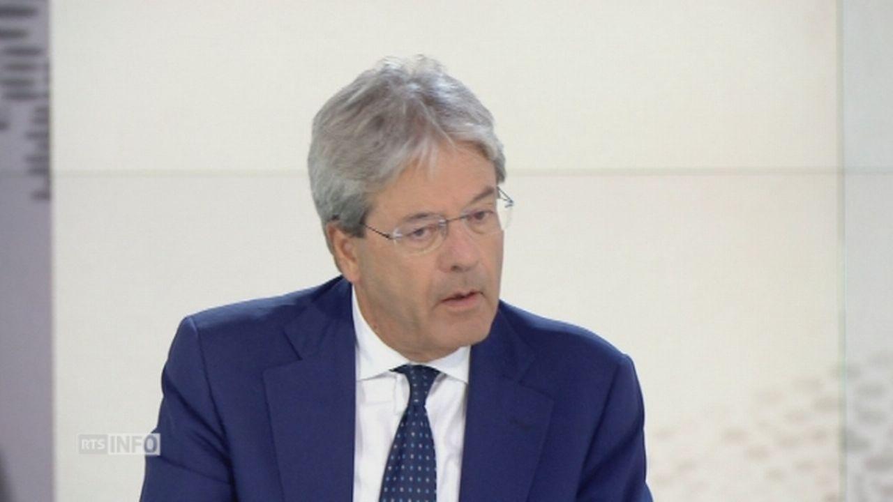 La crise migratoire à Côme préoccupe l'Italie [RTS]