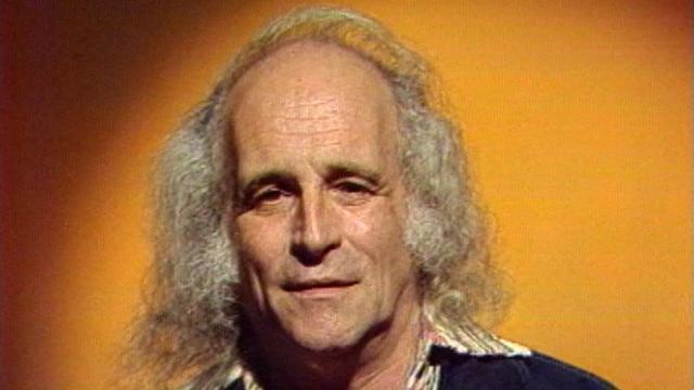 Léo Ferré en 1987. [RTS]