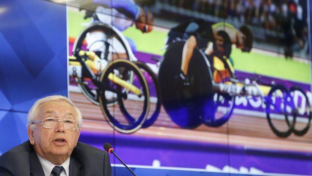 Le président du comité paralympique russe Vladimir Lukin. [Maxim Shipenkov - EPA/Keystone]