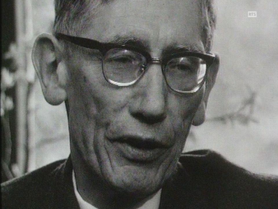 Marcel Regamey, fondateur de la Ligue vaudoise [RTS]