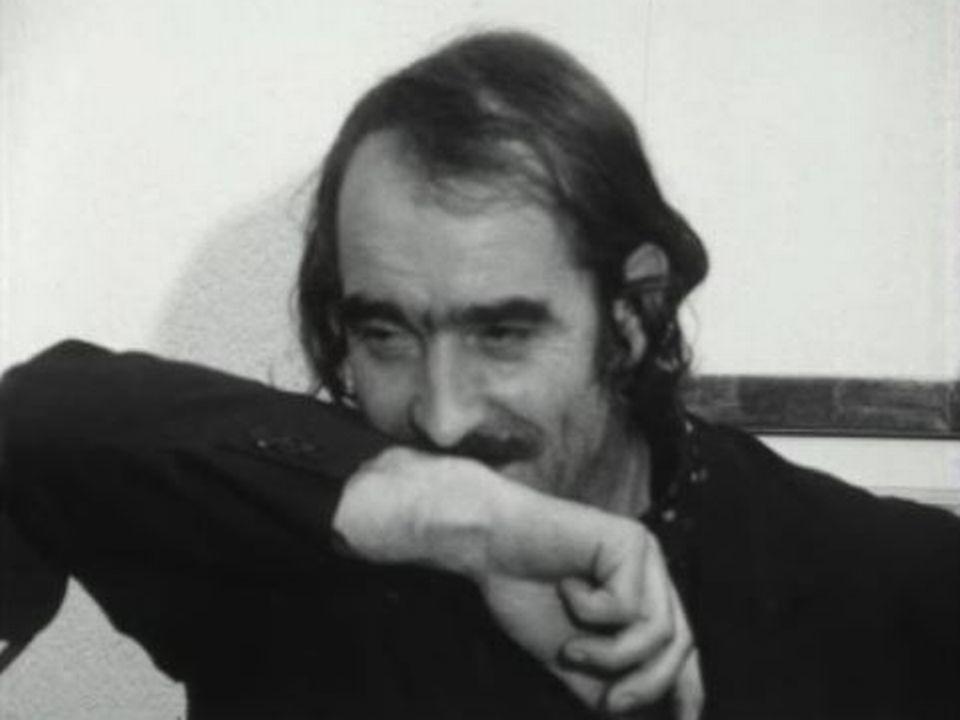 Jean Tinguely en 1970. [RTS]