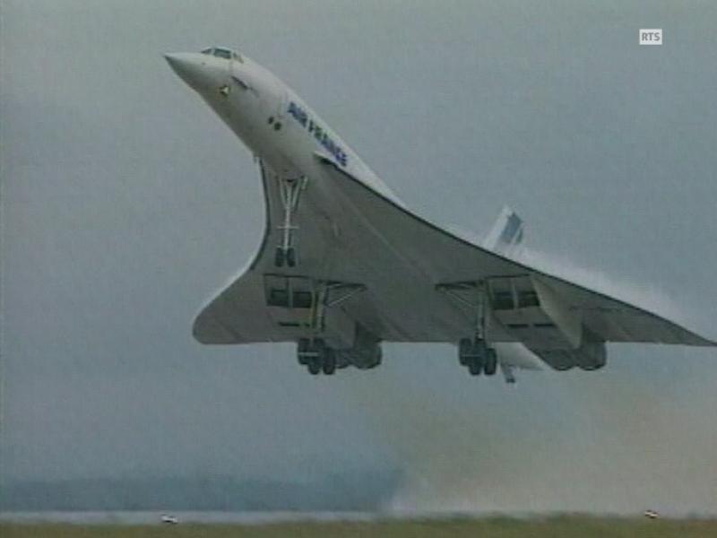 Le Concorde  Un Mythe Volant - Rts Ch