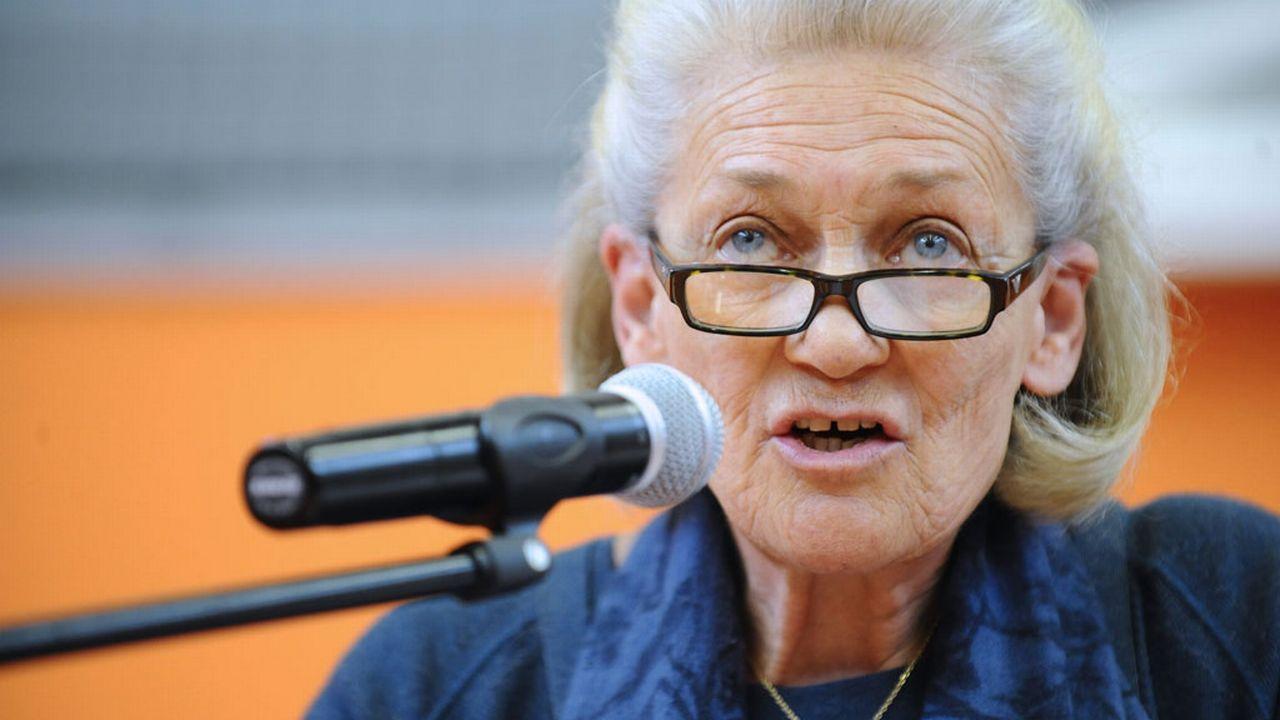 La philosophe Elisabeth Badinter. [Jean-Christophe Verhaegen - AFP]