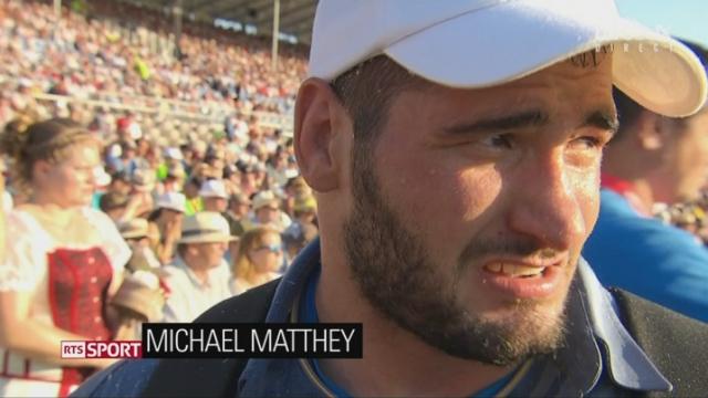 lutte: interview de Michael Matthey [RTS]