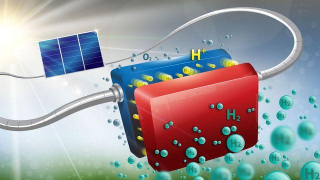 L'EPFL et le CSEM ont mis au point un système ingénieux pour stocker l'énergie solaire. EPFL/CSEM [EPFL/CSEM]
