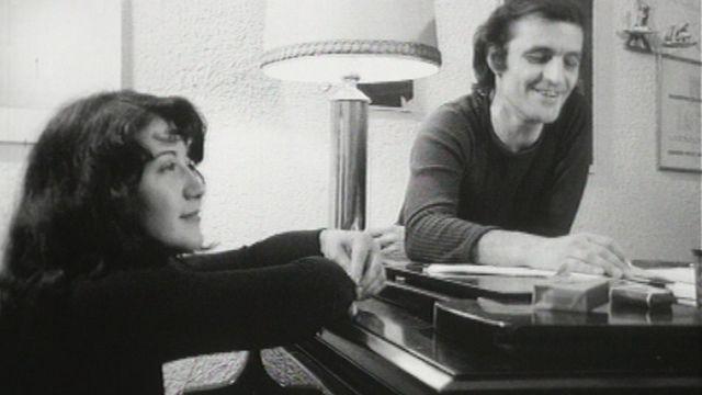 Martha Argerich et Charles Dutoit, la complicité en 1962. [RTS]