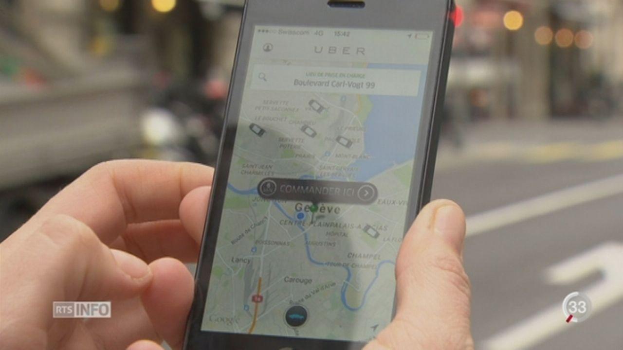 Le syndicat Unia exige que l'entreprise Uber soit considérée comme un employeur en tant que tel [RTS]