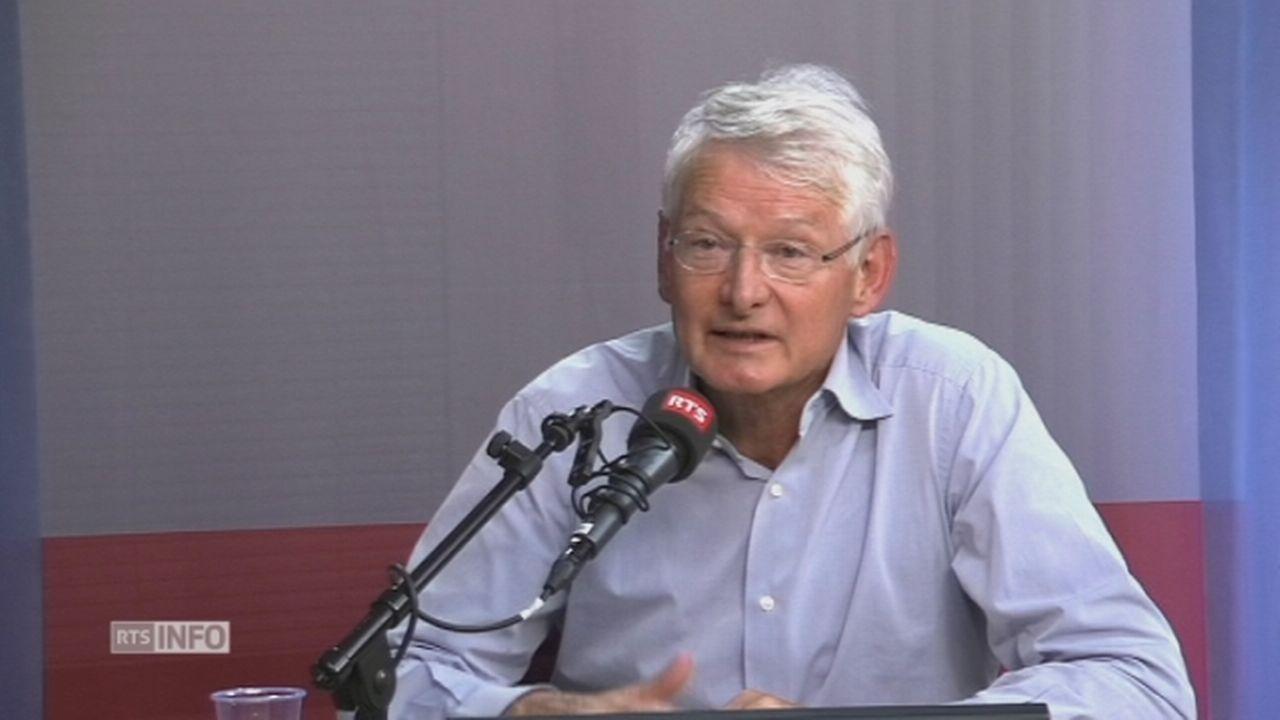 """""""La libre circulation des personnes est inutile pour l'efficience économique"""", selon Jean-Pierre Danthine [RTS]"""