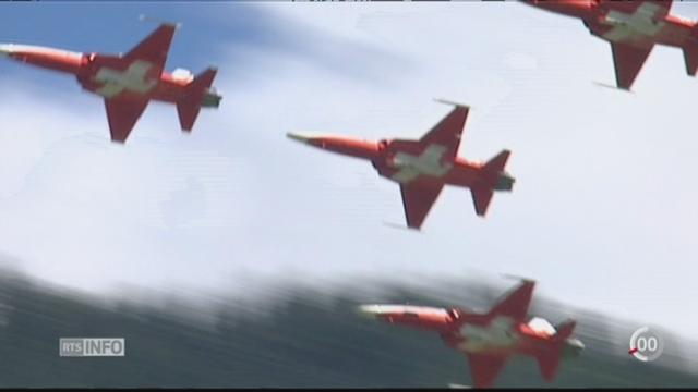 La disparition d'un avion militaire est une affaire politique et financière [RTS]