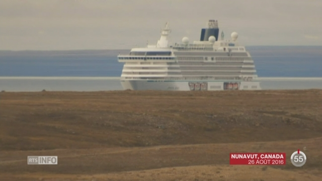 Une croisière traverse l'Arctique pour la première fois [RTS]