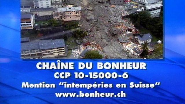 Chaîne du Bonheur en 2000. [RTS]