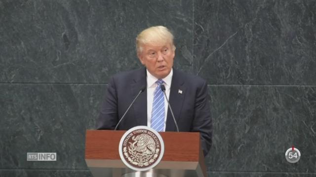 Donald Trump propose un véritable arsenal répressif contre l'immigration clandestine [RTS]