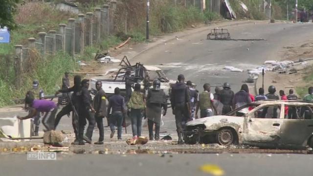 Violences après les résultats de l'élection présidentielle [RTS]