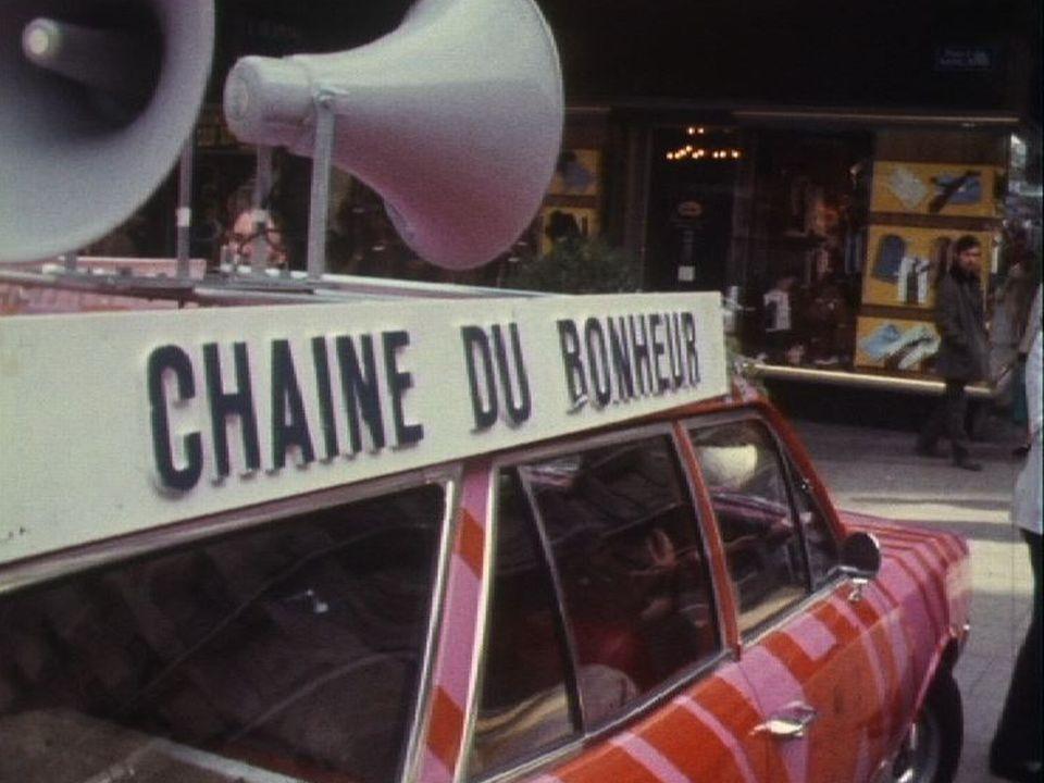 Quête de la Chaîne du Bonheur à Genève en 1971. [RTS]