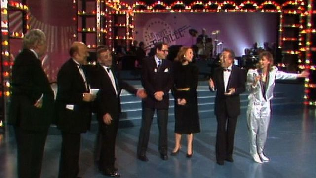 Gala de la Nuit étoilée en 1984. [RTS]