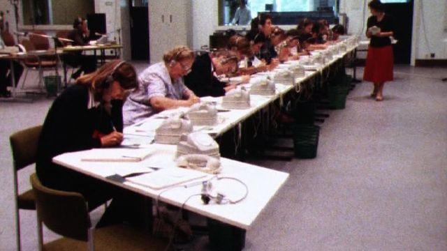 Opération Réfugiés de la Chaîne du Bonheur en 1980. [RTS]