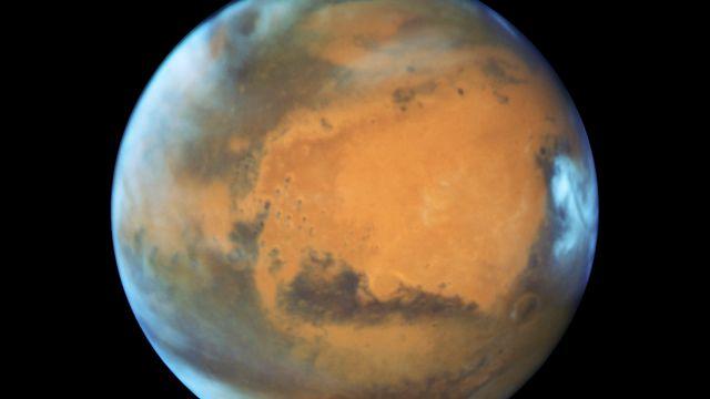 Une vue de Mars fournie par la NASA, le 22 mai 2016. [NASA - Keystone]