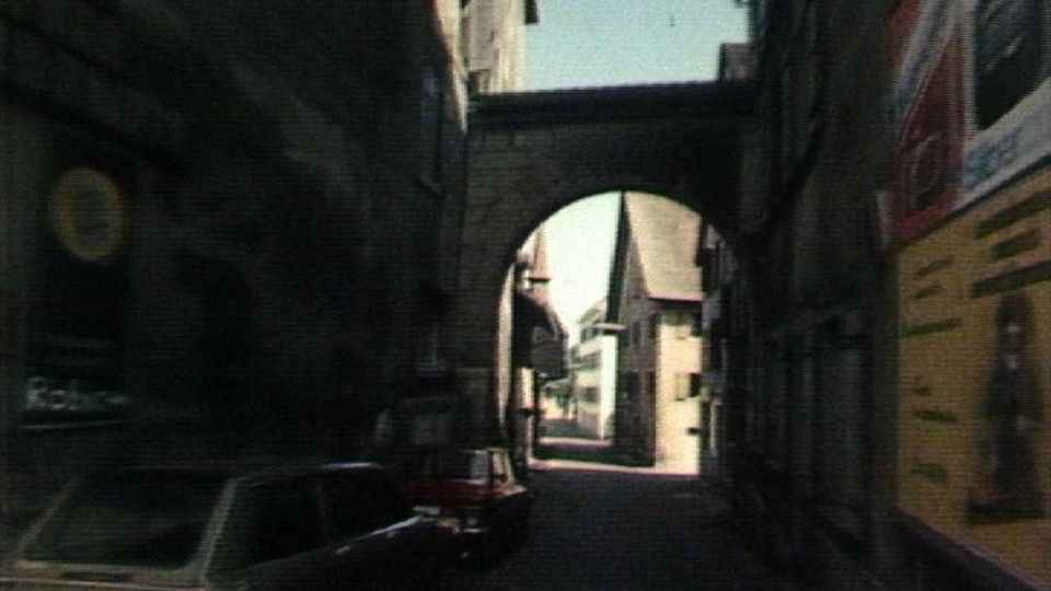 Rue de Payerne où Arthur Bloch fut assassiné. [RTS]