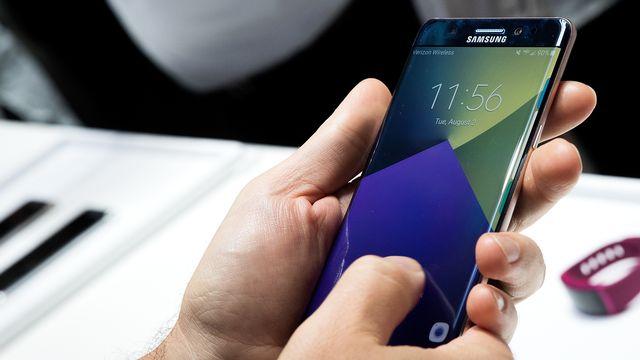 Les appareils Galaxy Note 7 de Samsung seraient sujets à des problèmes de batteries. [Drew Angerer - Getty Images/AFP]