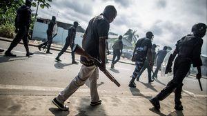 La police patrouillait jeudi dans les rues de Libreville, capitale du Gabon.