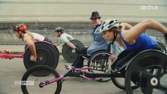 Paralympique Rio: images de lancement de l'événement [RTS]