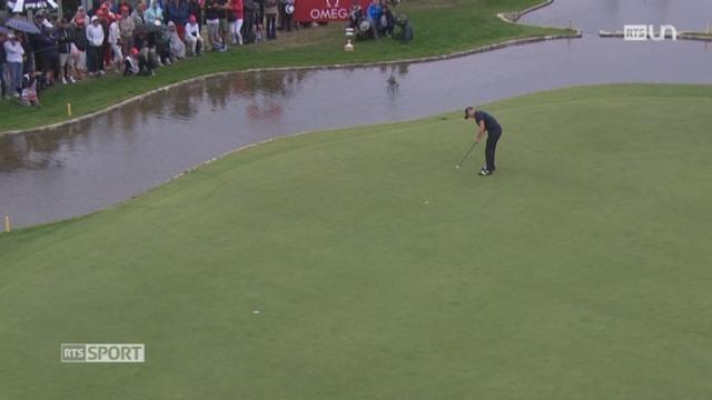 Golf- European Masters de Crans-Montana: le Suédois Alexander Noren s'impose en Valais [RTS]