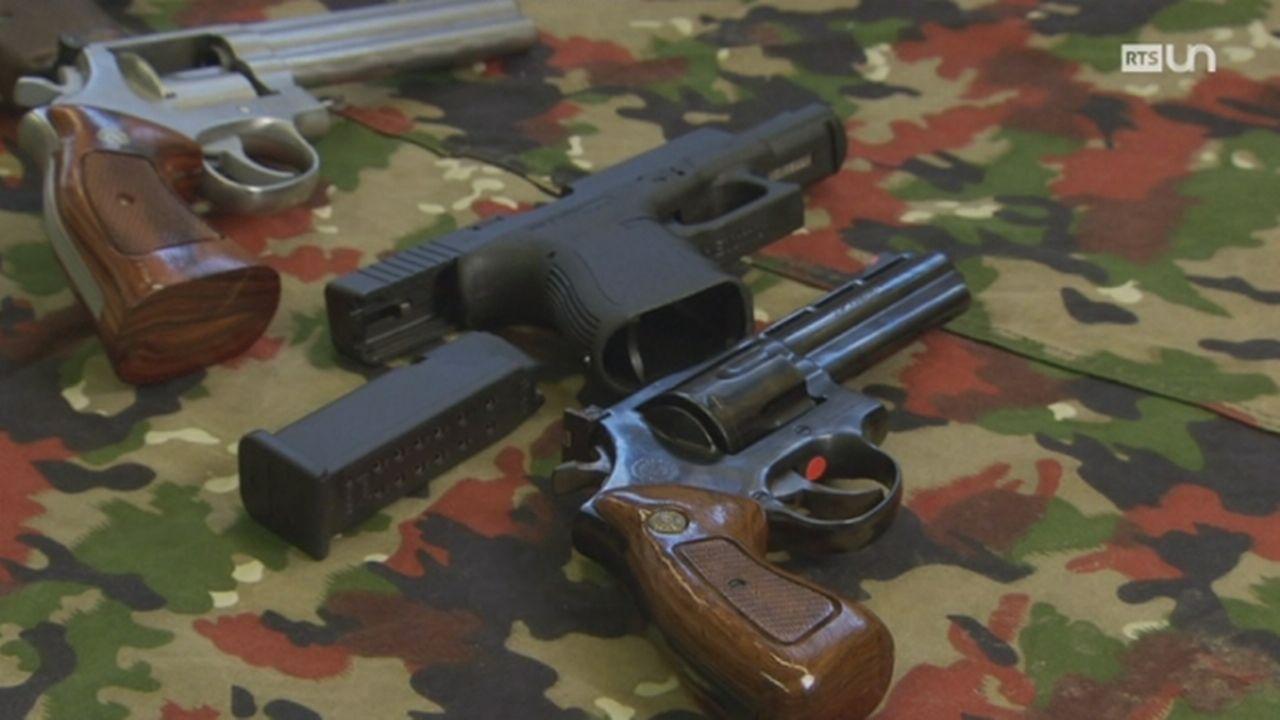 Les armes dans le viseur de Bruxelles [RTS]