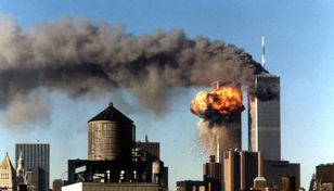 Les deux tours du World Trade Center de New York le 11 septembre 2001. [STR New / Reuters]