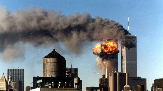 Les deux tours du World Trade Center de New York le 11 septembre 2001. [STR New / Reuters]