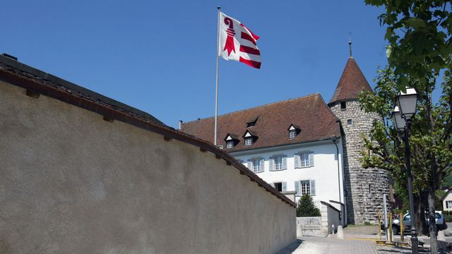 Le bâtiment du Parlement jurassien à Delémont. [Monika Flueckiger - Keystone]