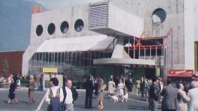 Ouverture du Comptoir de Martigny en 1977 au CERM [RTS]