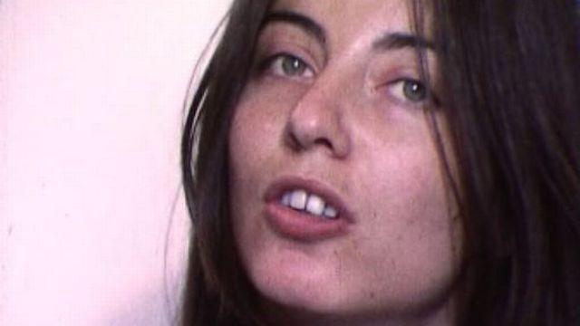 Patricia Plattner en 1977. [RTS]