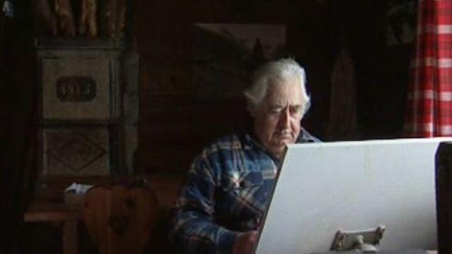 Antoine Forclaz, paysan architecte, 2002. [RTS]