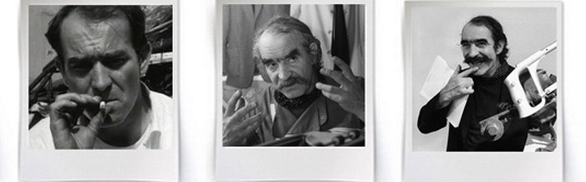 Jean Tinguely [Keystone & RTS - Photomontage]