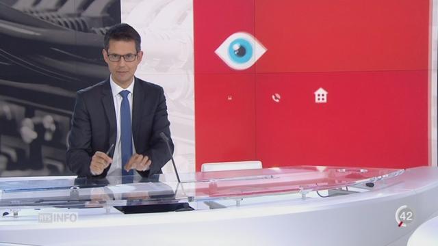 Les services de renseignements en Suisse: les explications de David Berger [RTS]