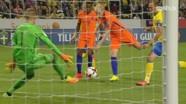 Gr. A, Suèdes - Pays-Bas (1-1): les 2 équipes se quittent sur un match nul [RTS]